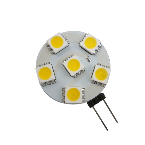 10-30V G4 lamp 1.2W warmwit of wit dimbaar