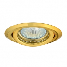 Ronde armatuur Goud Kantelbaar + MR16 fitting